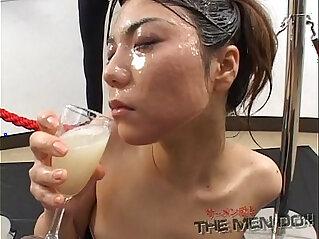 sexy japan: Big load bukkake and swallow girl Japanese Uncensored