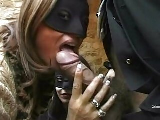 italian: Two lustful girls banged by Rocco Sifrredi and friends