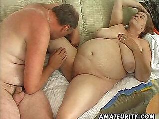 Chubby amateur wife sucks and fucks