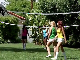party: lesbian voleyball