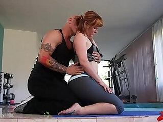 Claire Robbins Enjoys Namaste XXX