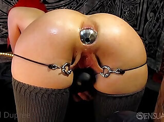 Asshole gaping anal odd insertions