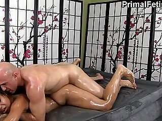 oiled  ,  teasing   chinese porn